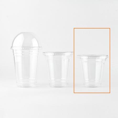 プラスチックカップ 360ml(10オンス) 96mm口径 1,000個  (PET製) T-96-360SS 無地 プラカップ【翌日発送可】