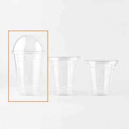 プラスチックカップ 510ml(16オンス) 96mm口径 1,000個  (PET製) T-96-510M 無地 プラカップ【翌日発送可】