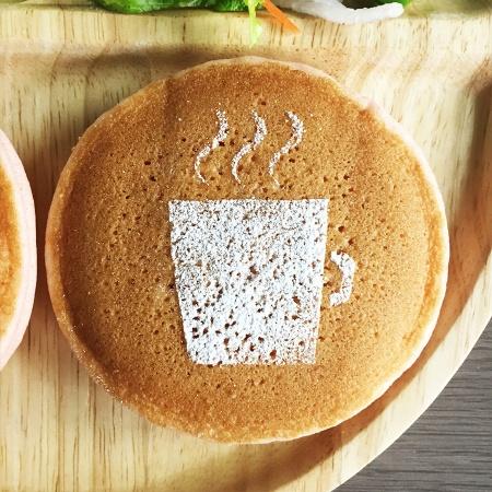 カフェアートステンシル coffee LAS-0031