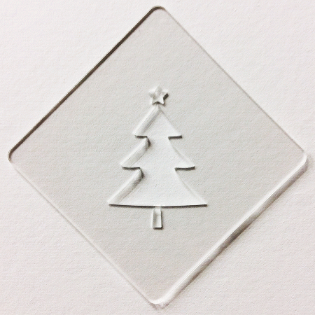 クリスマスステンシル ツリー カフェアートステンシル LAS-0052