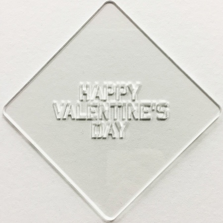 カフェアートステンシル バレンタイン絵柄1 LAS-0060