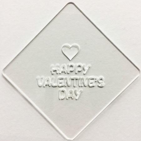 カフェアートステンシル バレンタイン絵柄4 LAS-0063