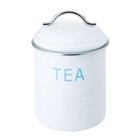 バーネット キャニスター 白 TEA SALUS(セイラス) 4521540244205 キッチン雑貨