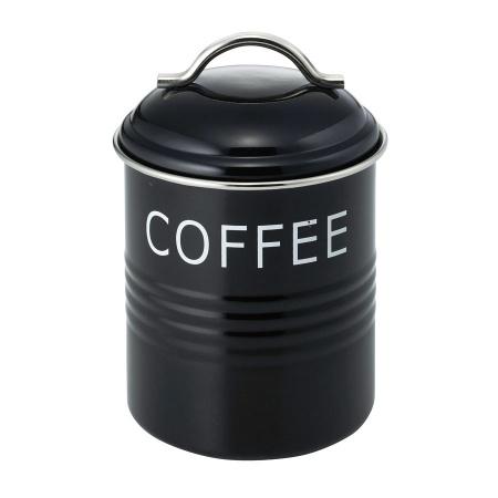 バーネット キャニスター 黒 COFFEE SALUS(セイラス) 4521540244151 キッチン雑貨