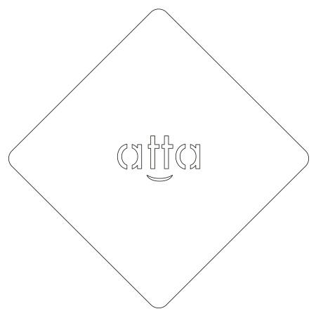 カフェアートステンシル オリジナルプレート LAS-0059 4573169220597